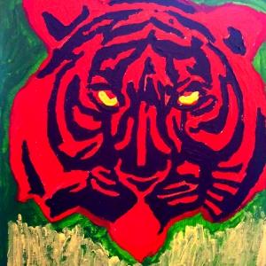 Gertjan de Moed tijger