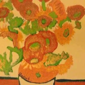 Gertjan de Moed (de zonnebloemen van Van Gogh)